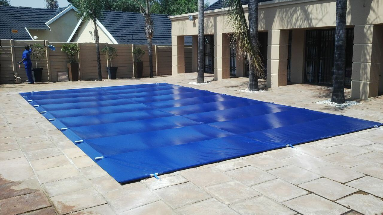 Solid Safety Pool Cover Aquanet