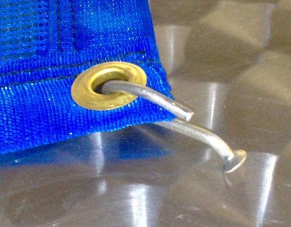 Pool leaf catcher cover PVC