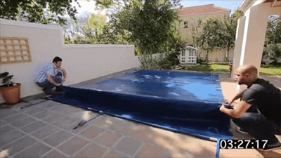 Aqua-net Pool Covers for child safety