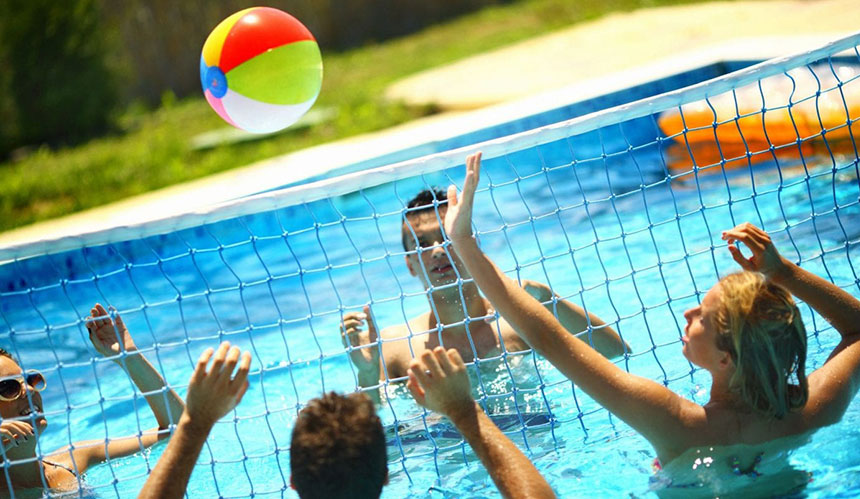 Aqua-Net Volley ball sports nets in Johannesburg, Durban and Cape Town